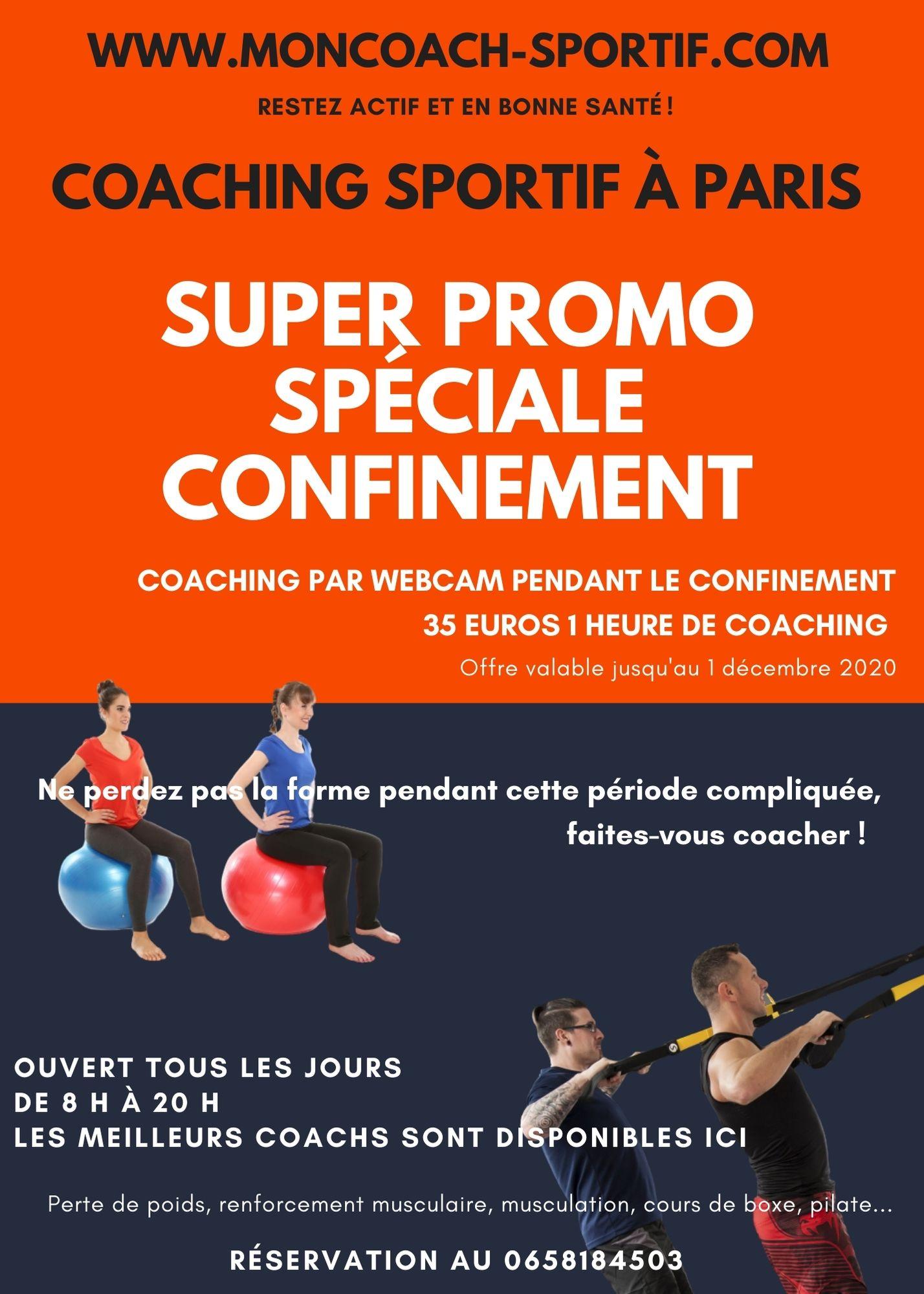 coaching sportif par webcam
